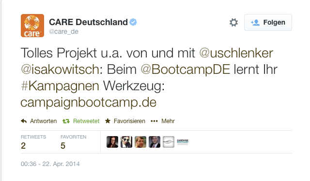 Tweet des WWF Deutschland