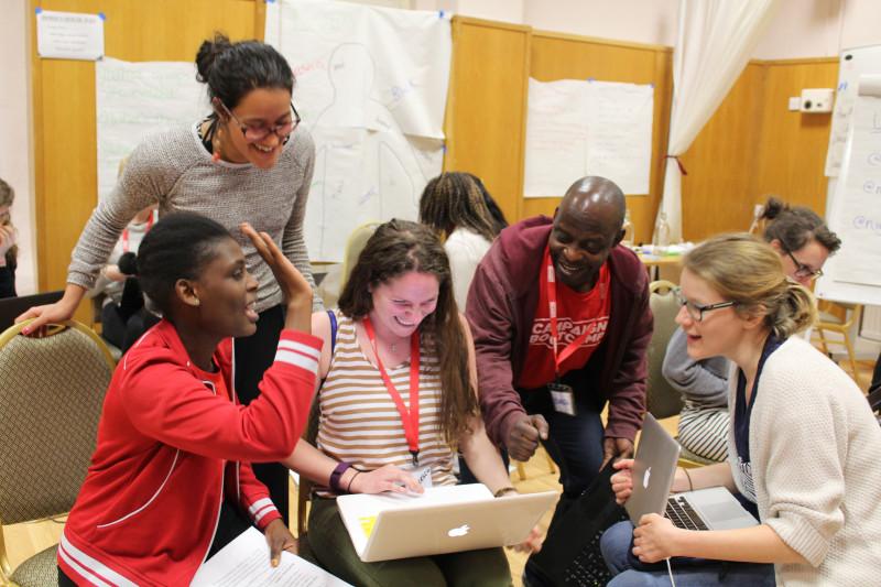Gemeinsam lernen und Erfolge feiern: Campaign Bootcamp in Großbritannien (Foto: Campaign Bootcamp)